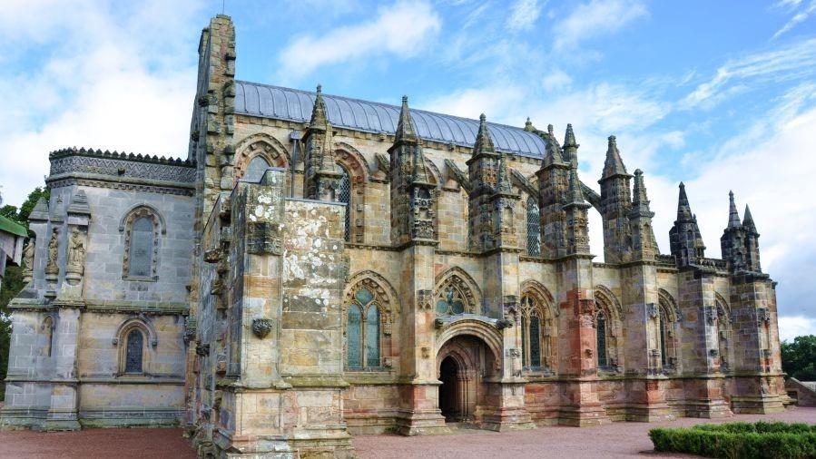 Krachtplaats Rosslyns chapel